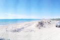Plaża z muszelkami