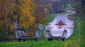 Kanał Elbląski – Pochylnia Kąty