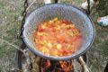 Kasiny gulasz wieprzowy z kociołka