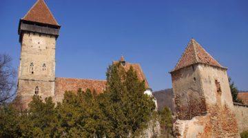 Kościół warowny w Ațel