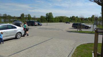 Tężnie w Gołdapi – parking