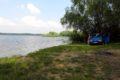 Zbiornik Słup na Pogorzu Kaczawskim, niedaleko Złotoryi