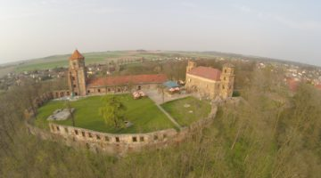 Ruiny zamku w Toszku