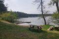 Miejscówka nad jeziorem Zdróżno
