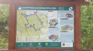 Szlak Fortyfikacji Szczycieńskiej Pozycji Leśnej