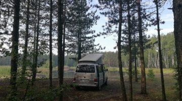 Zawodzie – leśny staw