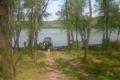 Jezioro koło Papy