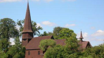 Leśno – drewniany kościół