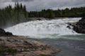 Wodospad Laksforsen – Norwegia