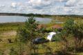 Widno – jezioro Fiszewo