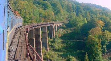 Najpiękniejsza trasa kolejowa Karpat