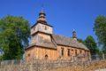 Drewniany kościół w Rogach