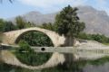 Most nad strumieniem Kissano