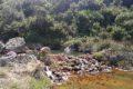 Dzikie termalne źródła koło Kallidromos