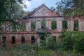 Ruiny pałacu w Zaborowie