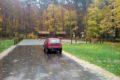 Głowno parking leśny