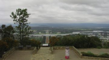Punkt widokowy na stolicę Australii – Canberrę