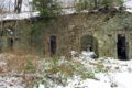 Ruiny składów i suszarni prochu w Mąkolnie