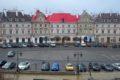 Parking pod zamkiem w Lublinie
