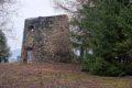 Ruina wiatraka w Dobroszowie