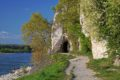 Skalne tunele w Hainburg an der Donau