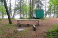 Parking (biwak) nad jeziorem Hańcza