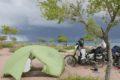 Południowy brzeg jeziora Issyk-Kul