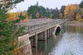 Zatopiony Most Hitlera w Czechach