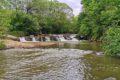 Wodospad na Olszance w Uhercach