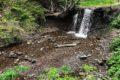 Wodospad Siklawa Ostrowskich w Wetlinie