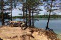 Błękitne jeziora. Olesznia.