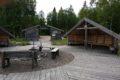 laavu Vikaköngäs koło Rovaniemi