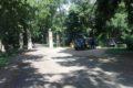 Parking przed Zamkiem w Nieświeżu