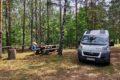 Parking leśny Werstok