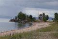 Na zachodnim brzegu jeziora Vattern
