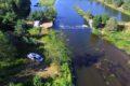 Próg wodny na Kwisie w Osiecznicy