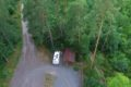 Węgielin parking leśny