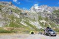 W drodze na Col de Sommeiller