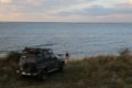 Miejsce biwakowe nad zatoką Dniprovs'ka Gulf