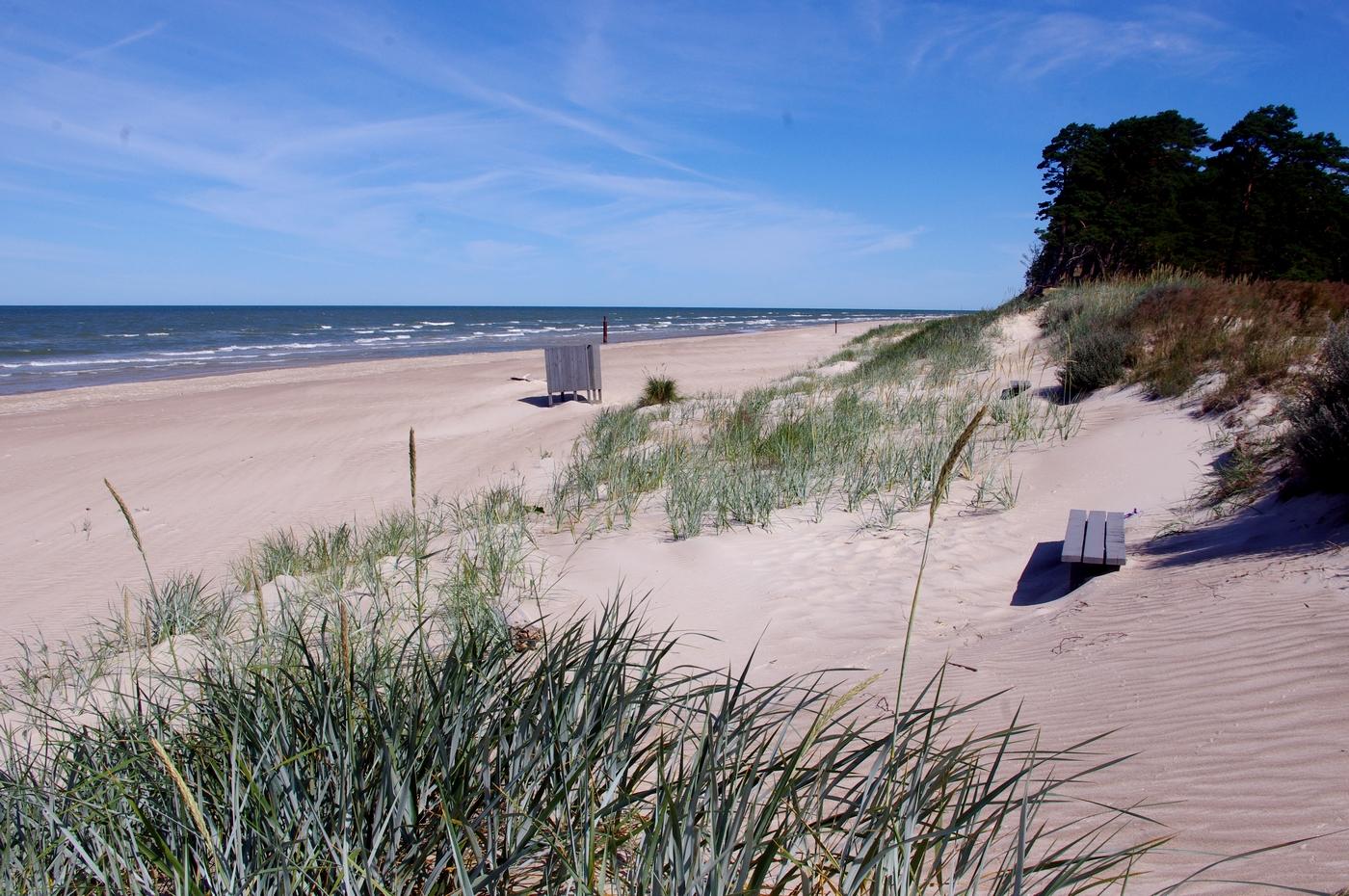 plaża koło Bernati