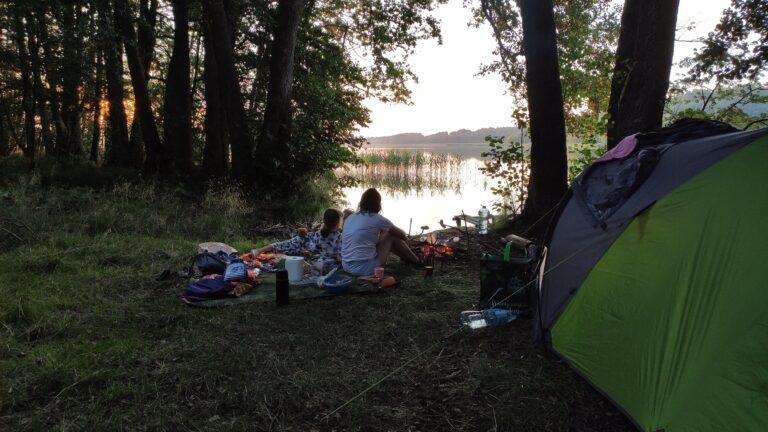 Jezioro Dołgie, Gwda Wielka